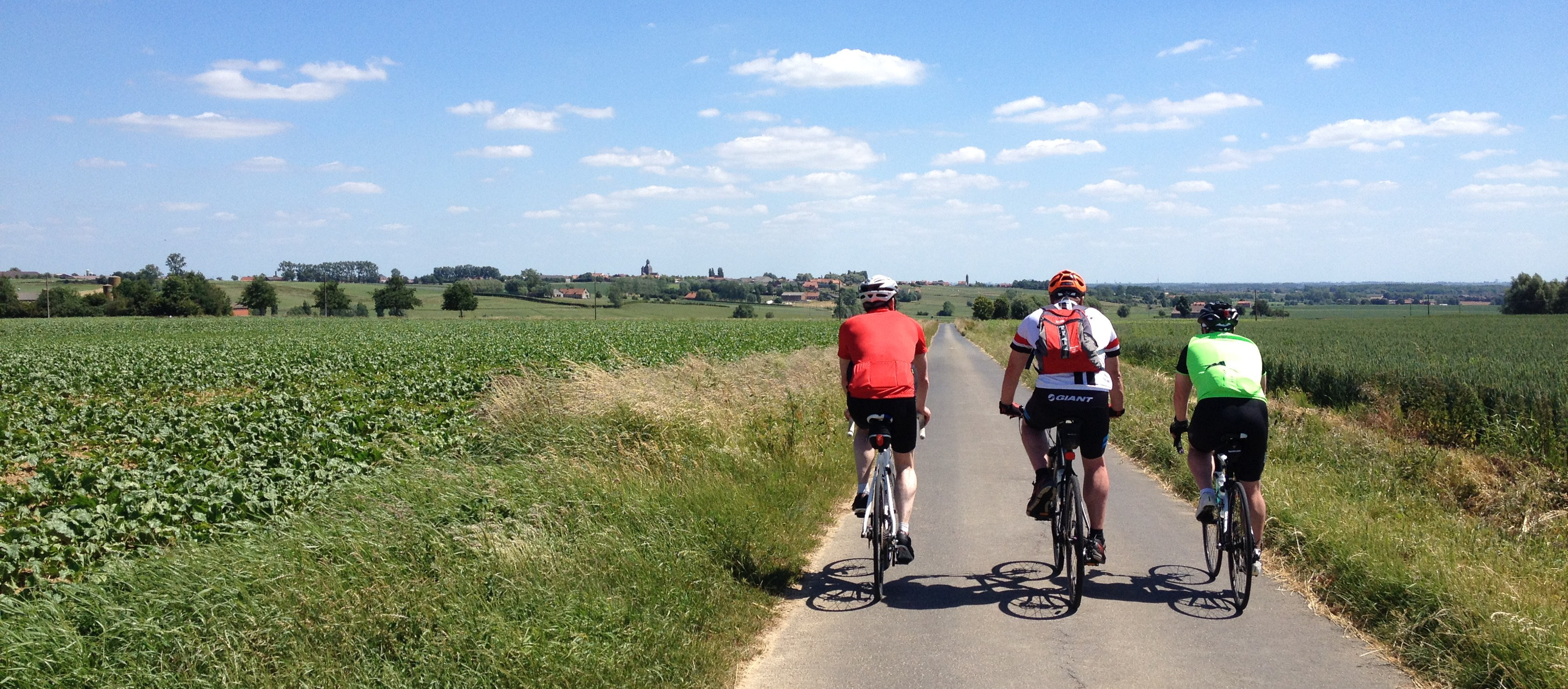 Cycling Messines Ridge