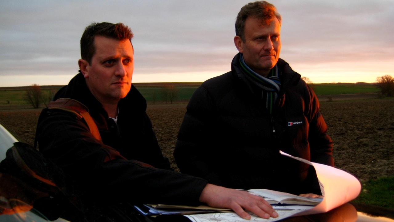 Filming Who Do You Think You Are with Hugh Dennis (2)